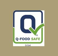 Zertifikat (iso-q-food) der Internet site, bezogen auf Kalamon – Oliven, BRC, IFS, Q-CERT, Agrisysytems, Agrocert, Dio (Bio-Produkte Zertifikate)