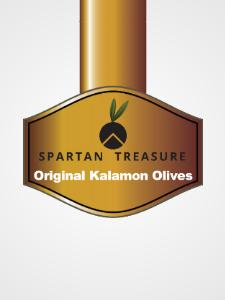 Логотип веб-сайта Оливки Каламата