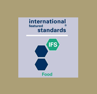 Certification (iso-ifs) of website which refers to Kalamon Olives