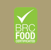Certification (iso_brc_food) of website which refers to Kalamon Olives